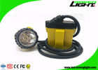 China 25000 Lux 10.4Ah Underground Coal Mining Lights 3W With Low Power Warning Function factory