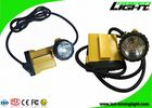 CREE LED 25000lux Coal Mining Lights 10.4Ah Samsung Battery With SOS Low Power Warning Function