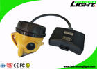 Semi Corded Led Miners Cap Lamp 15000 Lux GLS12-A 6.8 Ah Panasonic Battery IP 68