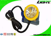 GLT-7C Corded Rechargeable LED Headlamp 15000 Lux High Brightness IP68 Super Bright