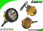SOS Waterproof Led Headlamp 25000lux GL12-A LED 10.4Ah Anti Explosion PC Material