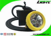 China 1.65m Cable Length Cordless Cap Lamp Mining Over 18 Hours Continous Discharge Time factory