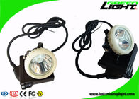 IP67 Miners Helmet Light 10000lux Rechargeable 6.6 Ah For Mineral Industry