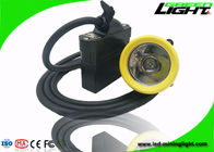 Silicon Button Cap Rechargeable LED Headlamp 10000lux 18hrs IP68 With USB Charging