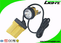 China 10.4Ah IP68 Mining Cap Lights 25000 Lux Minig Corded Cable With Low Power Warning factory