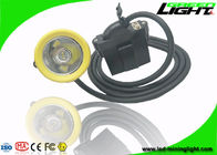 1000 Battery Cycles High Power Led Headlamp , 7.8Ah Cordless Cap Lamp With USB Charger