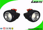 Anti Explosive Miners Cap Lamps Cordless , Hard Hat Led Lights Long Life Span
