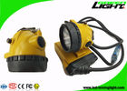 25000lux Coal Mining Cap Lights IP68 Waterproof 10.4Ah SAMSUNG Battery Long Life Time