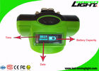 OLED Waterproof Cordless Mining Lights 13000lux IP68 Rechargeable Battery 6.8Ah