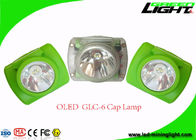 13000LUX Led Mining Cap Lamp , Portable Miners Helmet Light IP68 Waterproof