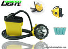 Anti Explosive Miners Helmet Light 25000 Lux Brightness With Low Power Warning Function