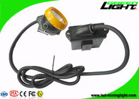 10000lux Brightness Mining Cap Lights IP68 Safety With Low Power Warning Function
