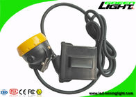 China IP68 Led Mining Light 10000lux Low Power Warning Function With Silicon Button Cap factory