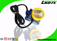 Underground Rechargeable Miners Headlamp IP68 15000lux 6.6Ah Lithium Ion Battery