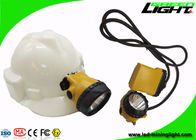 Customized Color Mining Cap Lights 25000lux 10.4Ah Battery IP68 Waterproof PC Housing