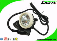 High Beam Led Miners Light 10000lux 6.6Ah Lithium Ion Battery IP68 Waterproof
