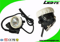 PC Body Led Miners Cap Lamp Headlight 10000lux Rechargeable Flame Resisitant