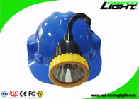 50000lux Brightness LED Coal Mining Cap Lamp IP68 Waterproof 11.2Ah For Hunting