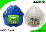 Mineral Industry LED Mining Light Adjustble Stainless Steel Clip 13000lux Hard PC Material