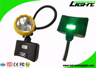 China High Beam Mining Head Light 6.8Ah Battery SOS 15000lux With Aluminum Lighting Cup factory