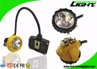 China 6.8Ah High Power LED Headlamp 15000lux IP68 With Low Power Warning Function factory