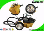 Cree LED Cordless Cap Lamp 490g Super Brightness 25000lux 10.4Ah Explosion Prevention
