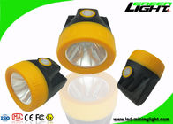 China Anti Explosive 10000lux Miners Cap Lamps Cordless 1.1W Support USB Charging factory