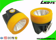 China 10000lux Potable Cordless Cap Lamp , Hard Hat Lights Support DC / USB Charging factory