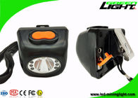 China Digital Screen IP68 Hard Hat Led Lights 8000lux High Brightness Lightweight PC Body factory