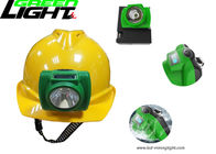 Anti Explosive CREE Rechargeable LED Headlamp 13000lux With OLED Screen Display
