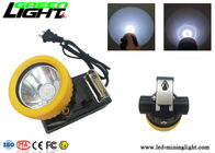 ABS Material Rechargeable Cordless Mining Cap Lamps CREE Light Source 5000lux Brightness