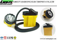 Four Lighting Modes Cordless Mining Cap Lamps 25000lux High Brightness 10.4Ah SAMSUNG Battery