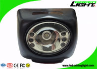 Waterproof IP68 Mining Cap Lights 8000lux Brightness With Long Working Time