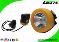 China Magnetic Charging Led Mining Headlamp , Mining Cap Lights For Occupational Safety factory