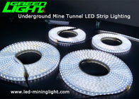 140 LEDs 24V underground mine tunnel led strip light ,2835,17W, silicon gal in-molding processing waterproof IP68