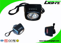8000lux High Brightness Miners Cap Lamps Cordless Lightweight PC Body Digital Display
