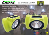 Super Bright Rechargeable LED Headlamp Explosion Proof 6.8Ah Li - Ion Battery