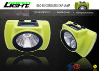 All In One Rechargeable LED Headlamp , Hard Hat Led Light Rechargeable 6800Ah