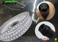 Warm White Led Flexible Tape Light , Waterproof Led Strip Lights Over Current Protection