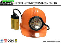 Multi - Functional Underground Mining Cap Lamps , Mining Hard Hat Led Lights