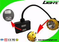 15000lux Brightness Semi Corded Mining Lamp Warning Lights Panasonic Battery Pack