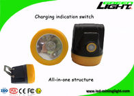 Explosion Proof Rechargeable Led Headlamp Cordless Mining Safety Cap Lithium Ion Battery