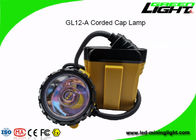 High Performance LED Miners Cap Lamp 25000lux Brightness 1200 Battery Cycles
