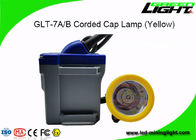 Safety Mining LED Corded Cap Lamp High Brightness With 22hrs Working Time
