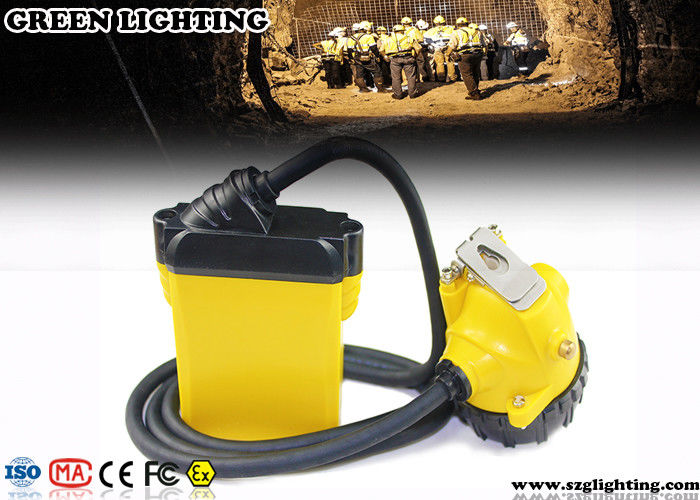 10 4AH Coal Miner Hard Hat Light Corded Style 25000 Lux Strong