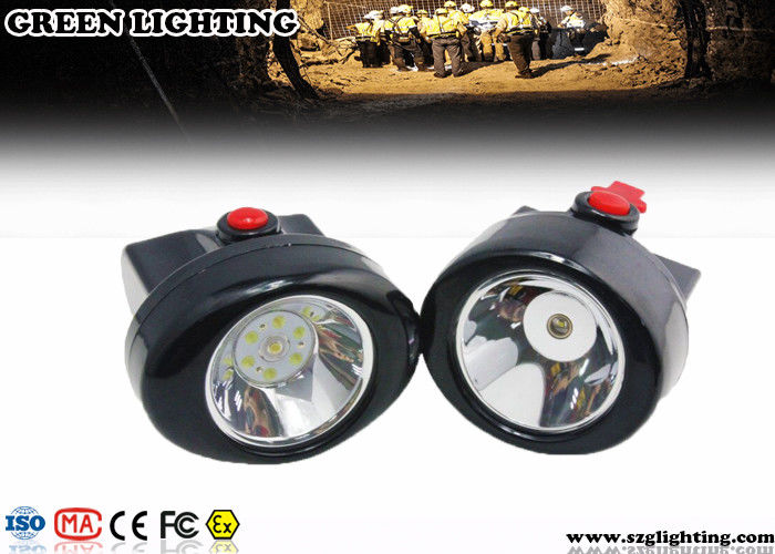 GL2.5-C Safety LED Mining Cap Lights 2.8AH 6000 Lux 230mA Cordless Style IP67