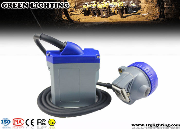 GLT-7A 4000 Lux Coal Mining Lights 300mA 6.6AH CE Approved IP68 Anti Explosive