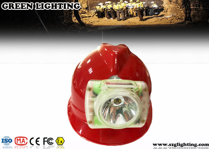 GLC-6 IP68 5.2AH Mining Cap Lights With OLED Screen 200g Weight 13000 Lux