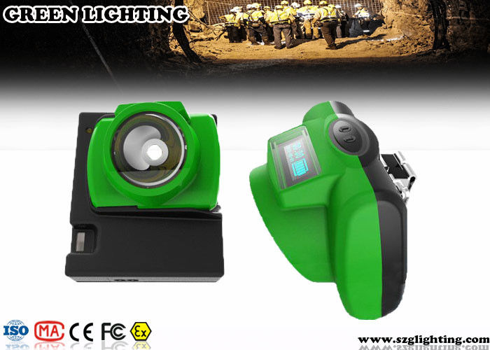 13000 Lux Rechargeable Headlamps For Hunting 6.2Ah Battery PC Material