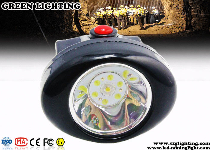 1 Watt Light Weight Safety Cordless Mining Lights Explosion Proof 2.8Ah Battery
